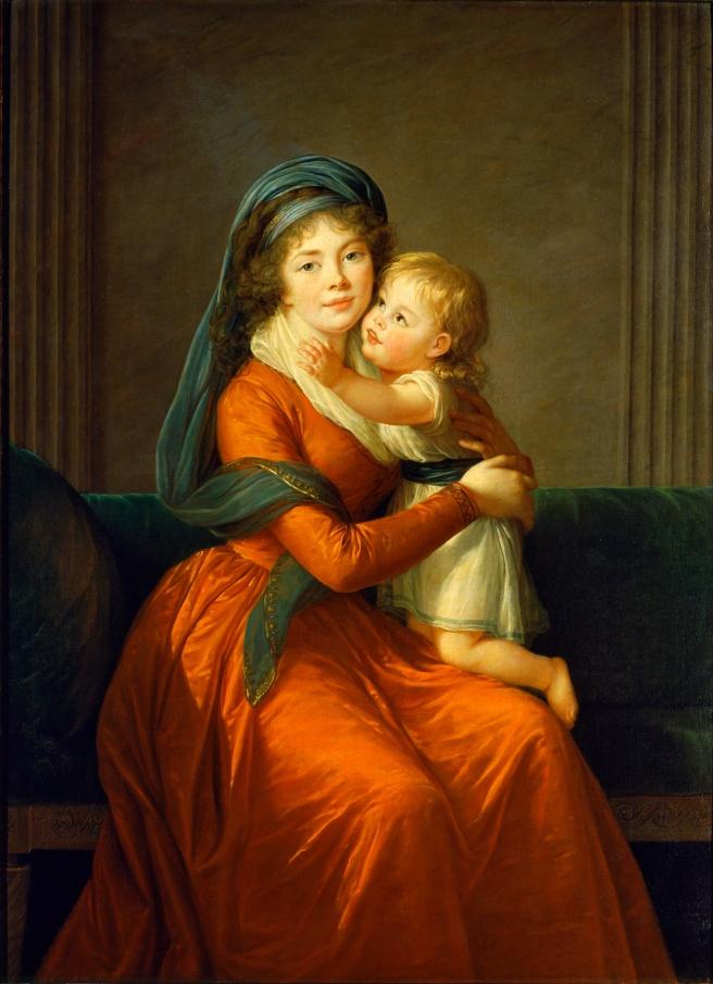 Elisabeth_Vigee-Lebrun_-_Portrait_of_princess_Alexandra_Golitsyna_and_her_son_Piotr_-_Google_Art_Project