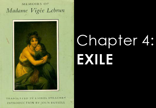 Memoires of Madame Vigee Lebrun - chapter 4