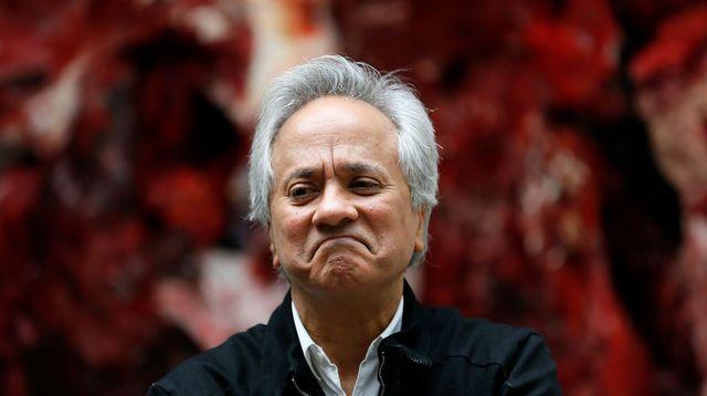 """Anish Kapoor veut """"bouleverser l'équilibre et inviter le chaos"""" à Versailles.  REUTERS/Stefan Wermuth"""