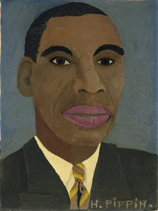 Horace Pippin, Self-Portrait, 1944, Metropolitan Museum of Art, New York.