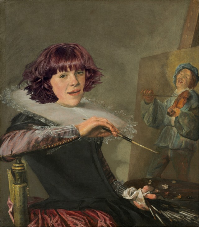 Judith Leyster, Self-Portrait,; c. 1630, National Gallery of Art, Washington, D.C.