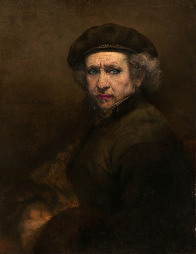 Rembrandt, Self-Portrait, 1659, National Gallery of Art, Washington, D.C.