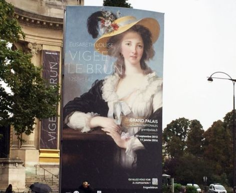 The exhibition poster is based on a self-portrait