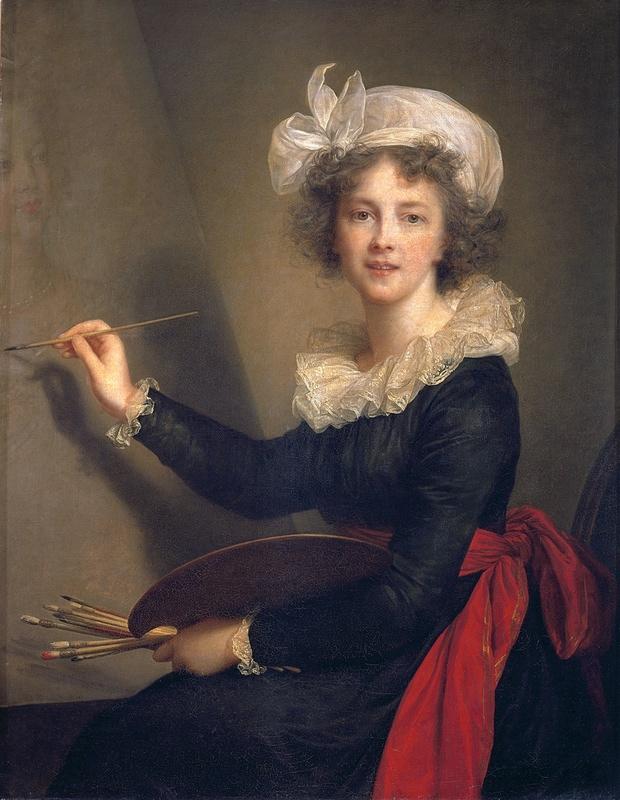 A self portrait by Élisabeth Louise Vigée Le Brun (1790) Photograph: Galleria degli Uffizi, Florence, Italy / Bridgeman Images
