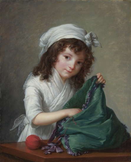 Elizabeth Louise Vigée Le Brun - Mademoiselle Brongniart