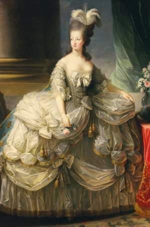 Portrait de Marie-Antoinette par Elisabeth Vigée-Lebrun en 1778 The Art Archive / Musée du Château de Versailles / Gianni Dagli Orti