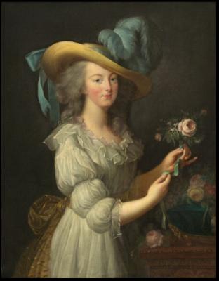 D'après Vigée Lebrun, Marie-Antoinette, 1783, huile sur toile (93 x 73 cm), National Gallery of Art, Washington